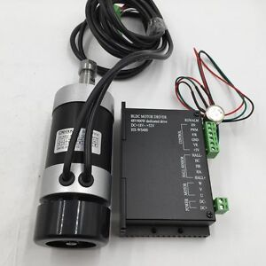 Cnc 400w Er11 12000r min Brushless Spindle Motor Pwm Speed Controller Mach3 48v