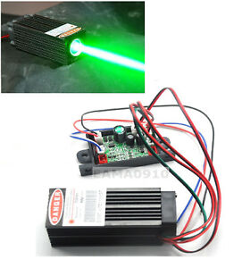 532nm 60mw Green Laser Dot Module W ttl 12v Fat Beam Bar Stage Lights