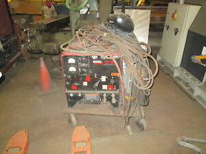 Lincoln Idealarc Dc 250 Welder Good Condition