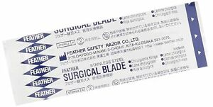 Feather 2976 15 Feather Sterile Surgical Blade 15 pack Of 100