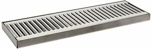 Acu Precision Sheet Metal 0100 15 Surface Mount Drip Tray No Drain Stainless