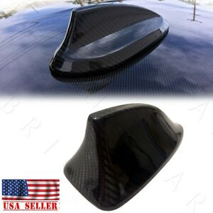 For Bmw F30 3 series Gloss Real Carbon Fiber Roof Antenna Cover Cap Cf Shark Fin