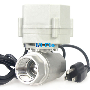 New Normally Open Actuator For Electrical Ball Valve With Us Plug