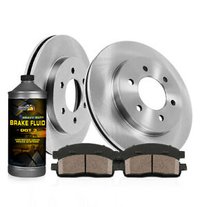 Front Brake Rotors Ceramic Pads 2007 2008 2009 Ford Expedition Lincoln Navigator