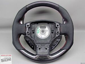 Aston Martin Db9 Vantage S Dbs Rapide Perforated Small Carbon Steering Wheel