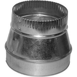 6x4 Round Duct Reducer 6 To 4 Adapter