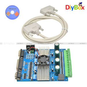 Cnc Tb6560 3 5a 4 Axis Stepper Motor Driver Board Controller 4 Engraving Machine