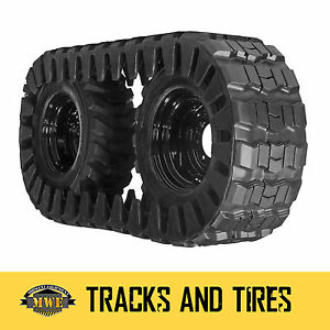 Case 450 Skid Steer 2 Camso Extreme Duty Over the tire Tracks Fits 12 16 5 Tir