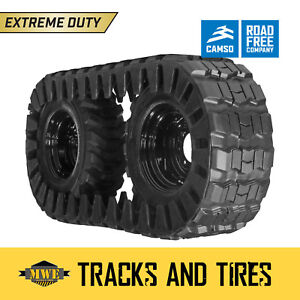 New Holland Lx665 Single Over Tire Track For 10 16 5 Skid Steer Tires Otts
