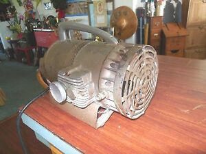 Vintage Brinks Compressor Motor Commercial 1 4 Hp 1 Phase Model 34 1002 Usa