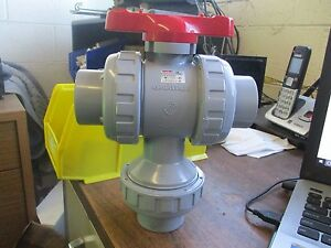 Asahiav 3 Way Ball Valve Assembly Dn40pn10