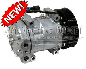 A c Compressor W clutch For Sanden 4097 4108 4802 New