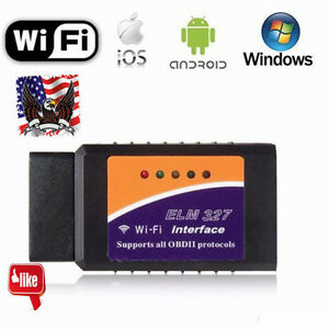Elm327 Wifi Obd2 Car Diagnostics Scanner Scan Tool For Iphone Ios Android