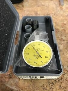 Brown And Sharpe 599 7033 13 Dial Test Indicator Set Top Mounted M1 4x0 3