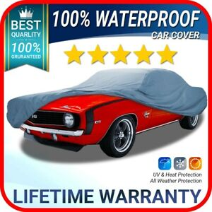 chevy Camaro 1966 1967 1968 1969 Car Cover Warranty Premium custom fit