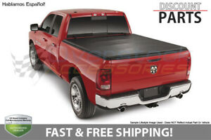 Premium Trifold Tonneau Cover For 2009 2017 Dodge Ram 1500 5 8ft 69 6in Bed