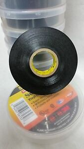 3m Scotch Super 33 Black Vinyl Electrical Tape 3 4 In X 66 Ft Carton Of 10