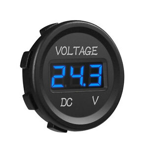 Mictuning Dc 12v Voltmeter Led Digital Display Voltage Waterproof For Boat Car