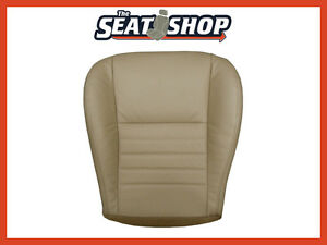 00 04 Ford Mustang Saleen Gt Supercharged Driver Bottom Leather Seat Cover Tan