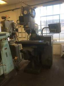 Bridgeport Series 1 42 Table 2hp Cnc Vertical Mill W 60 4200 Rpm Spindle