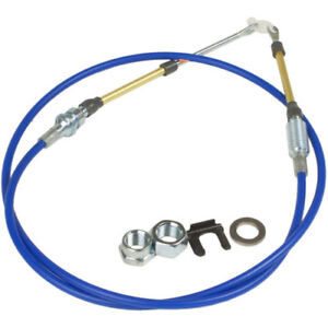 Hurst 5000029 Quarter Stick Replacement Shifter Cable 5 foot Length Double Eyele