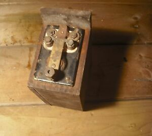 Vintage Antique Make N Break Hit Miss Buss Coil