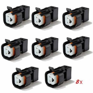 8 Uscar Ev6 Ev14 Female To Ev1 Male Fuel Injector Connectors Adapters In Usa