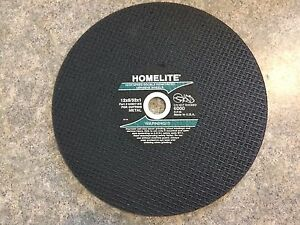 Lot Of 5 Homelite Cutoff Chop Saw Blade Metal 12 x5 32 x1 Hom 4982164597 bs