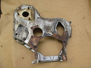 1962 Massey Ferguson Super 90 Diesel Tractor Timing Gear Cover 410 Combine