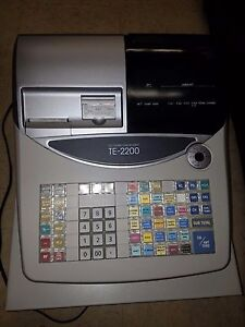 Casio Te 2200 Cash Register