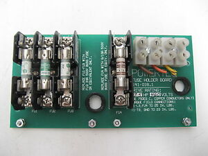 Powertec Wetec Fuse Holder Board Pcb 141 018 1