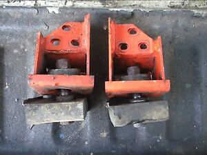 1976 1370 Case Diesel Farm Tractor Cab Mount Brackets Free Shipping