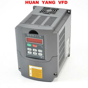 Speed Control Variable Frequency Drive Inverter Vfd 1 5kw 220v 2hp 7a For Cnc