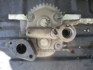 Allis Chalmers F3 Gleaner 6080 Tractor Turbo Diesel Combine Oil Pump 4023972
