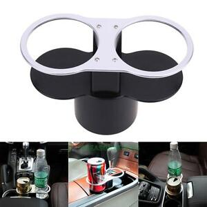 Auto Car Seat Dual Cup Holder Food Drink Bottle Mount Stand Storage Organizer