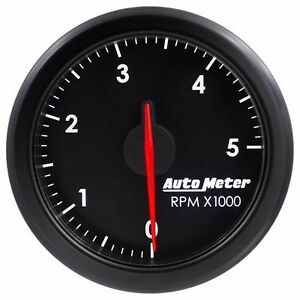Fits Ford Dodge Chevy Auto Meter Black Airdrive Series Tachometer