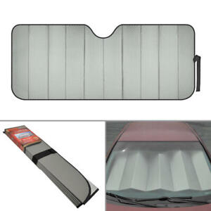 Uv Protection Auto Sun Shade Fold Able Visor For Car Truck Suv Windshield