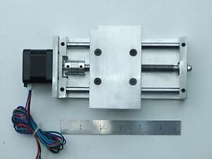 Cnc Z Axis Slide nema 17 2 0 Travel Router 3d Printer Diy