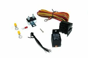 Universal Electric Fuel Or Water Pump Fans And Lights Relay Kit 50 Amp 12 Volts