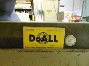 Doall Granite Surface Plate 24 X 48 X 4 0006 Tolerance With Heavy Duty Stand
