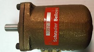 Schrader Bellows 3352 B Air Clamp New 1 Inch Stroke 2 1 4 Inch Bore