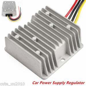 Dc Voltage Stabilizer Automatic Regulator 8 40v To 12v 6a72w Car Power Converter