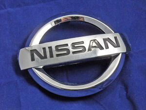 New Front Grille Radiator Emblem For Nissan Altima 2007 2012 Free Us Ship