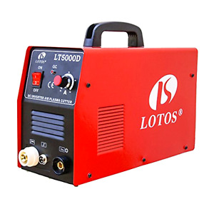 Lotos 50amp Dual Voltage Plasma Cutter Torch 110 220 volt 50 60 Hz Free Shipping