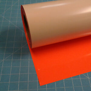 Fluorescent Orange Siser Easyweed 15 By 15 Feet Heat Transfer Vinyl