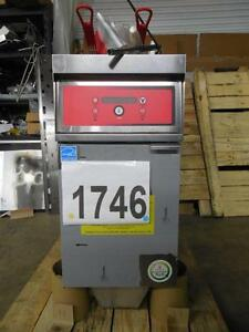 1746 vulcan Electric Deep Fryer With Kleenscreen Plus Filtration Model 1er50df 3