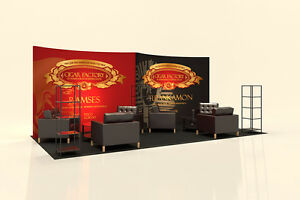 Trade Show Modular Display Booth For Rental