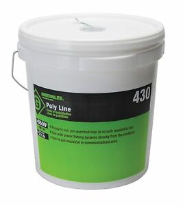 Greenlee 430 Poly Fish Line Tracer Green 6500 foot