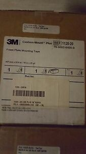 3m 1120 M Cushion Mount Foam Plate Mounting Tape 18 x25yd For 20 Mil Application