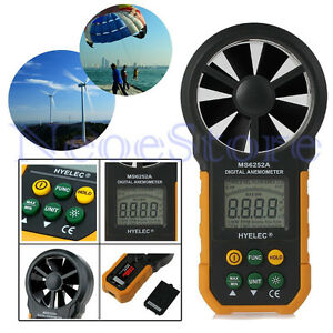 Lcd Digital Anemometer Wind Speed Meter Air Flow Tester Measure Weather Station